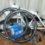 クロスバイクの後輪交換 リアエンド幅135mm問題