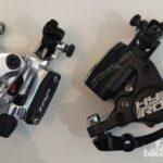 ロードバイク対応 油圧ディスクブレーキキャリパー TRP Hy/Rd