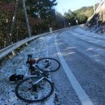 12月9日 白石峠は凍結のためドロップアウト