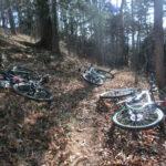 風張林道→時坂峠(浅間尾根トレイル) 初心者がマウンテンバイクで劇坂を体験してみた